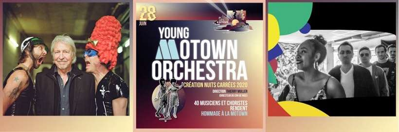 The Vibes Lobbyists + Young Motown Orchestra + Henri Dès et Ze Grands Gamins