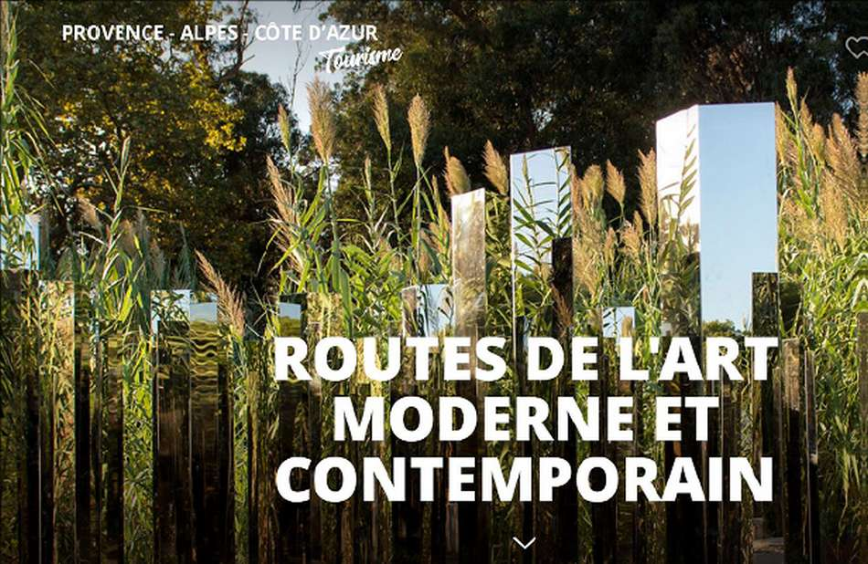 Les routes de l'art moderne et contemporain