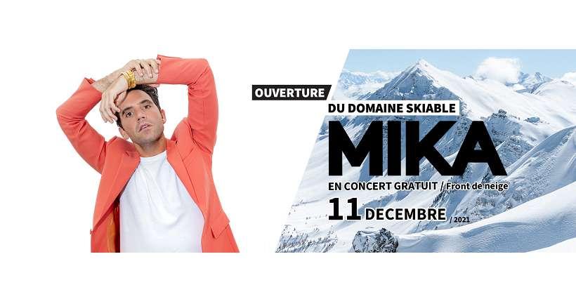 Mika en concert gratuit pour l'ouverture de la station de Vars