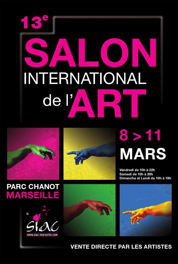 Salon international de l 39 art du 08 03 2013 au 11 03 2013 for Salon parc chanot