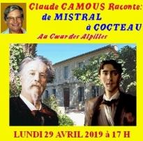 Claude Camous raconte De Mistral à Cocteau, Au coeur des Alpilles