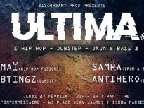Ultima #1 : Kamaï + Subtingz + Sampa + Antihero