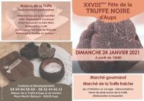 La Fête de la Truffe aura bien lieu ce dimanche à Aups - 24/01 - Aups