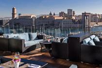 Nouveau lieu de rendez-vous sur la terrasse du Sofitel