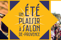 Un �t� � Salon de Provence