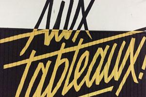 Aux Tableaux : Quand le street art recrée une école inventive !