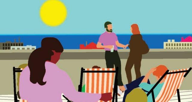 Le Bel été de la Friche : le toit-terrasse s'ouvre au public pour la saison estivale.