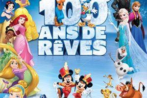 Gagnez vos invitations pour Disney sur glace : 100 ans de reves