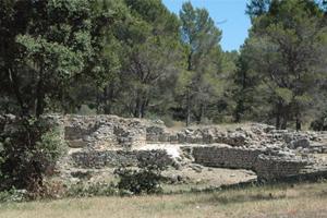 Balade arch�ologique � Saint Blaise