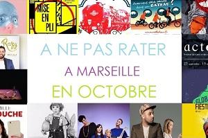 Les événements à ne pas manquer à Marseille en octobre