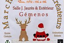 Marché de Noel des créateurs à Gémenos