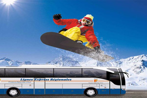 Pour partir au ski,