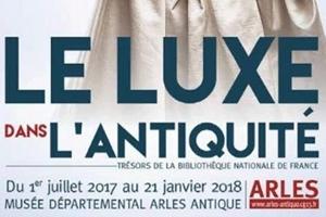 Gagnez vos invitations pour l'exposition luxe dans l'antiquite