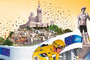 Où voir le Tour de France à Marseille ?
