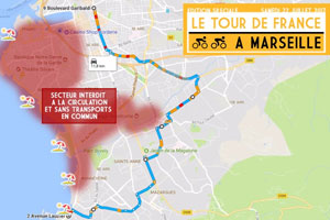 Tour de France � Marseille