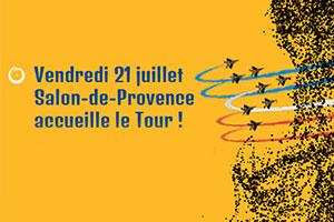 Le Tour � Salon de Provence ce vendredi