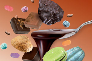 Les Chocolatiers f�tent la gastronomie