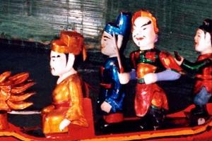 Les marionnettes sur l'eau du Vietnam