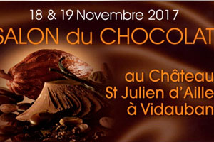Salon du chocolat au Château Saint Julien d'Aille